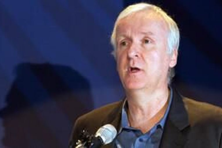 James Cameron travels to the bottom of the Mariana Trench