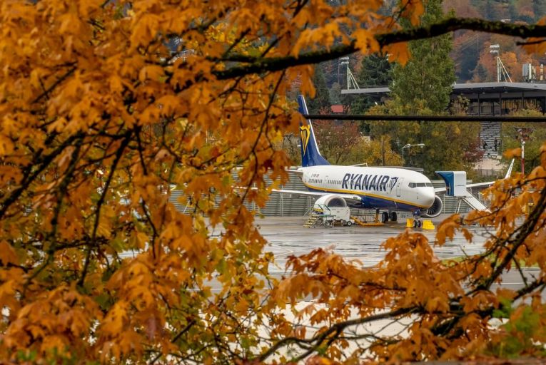 Ryanair has ordered 135 of the grounded Boeing 737 Max. Picture: Gary He/Getty Images