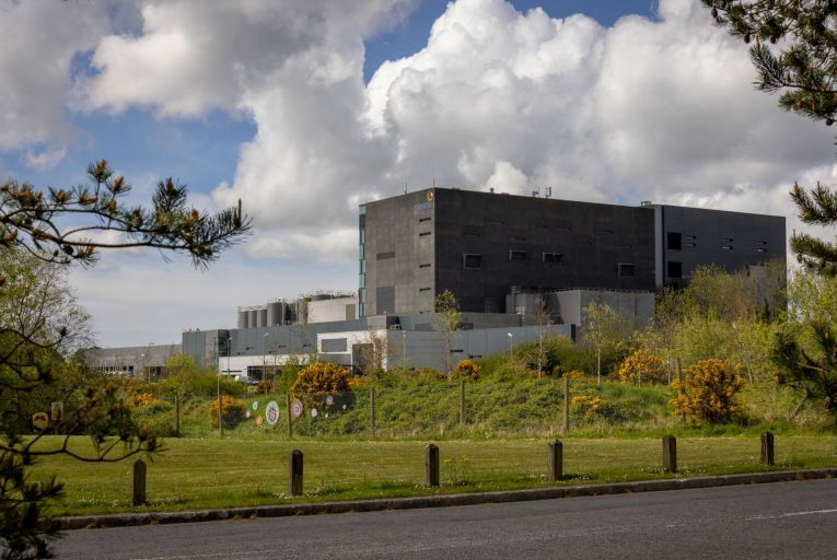 The Glanbia plant at Belview in Co Kilkenny: the planned continental cheese plant to be located at the site will help process the increased milk supply from farmers since the end of EU milk quotas in 2015. Picture: Dylan Vaughan