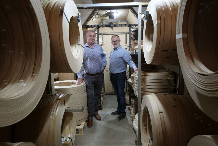Paul and Brendan Farrell, the third generation of the family running Farrell Furniture, Ardee