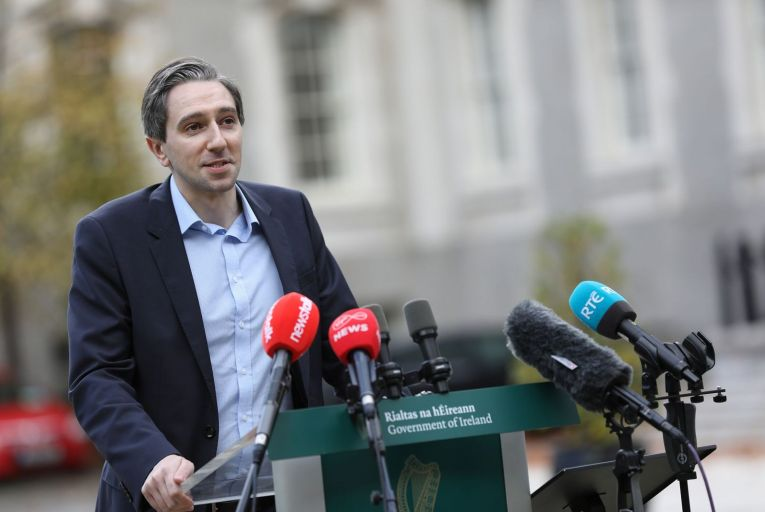 "Simon Harris has previously complained at the Oireachtas Education Committee that there is a ""snobby attitude in this country"""
