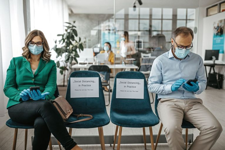 A return to work has many challenges and opportunities for businesses and staff, but it must be handled and managed carefully. Picture: Getty