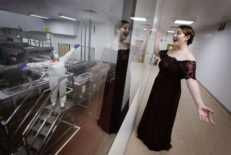 Jade Phoenix: the 23-year-old soprano has won the Danone Ireland Young Outstanding Female Artist Award from Wexford Festival Opera. Picture: Mark Stedman