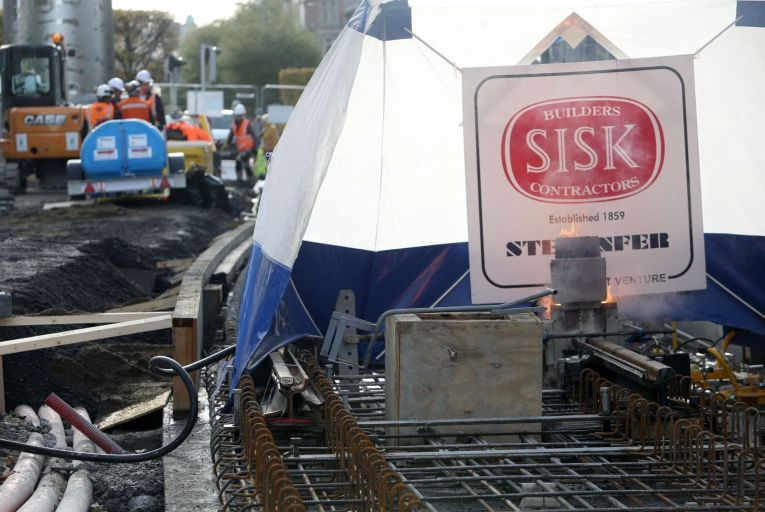 Sisk will tomorrow implement randomised and 'with-cause' testing for intoxicants on all its sites in order to improve the 'safety, health and well-being' of its staff. Picture: Sam Boal/Rollingnews.ie