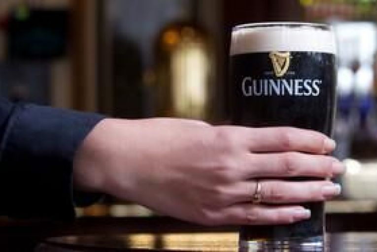 Price of a pint of Guinness to rise