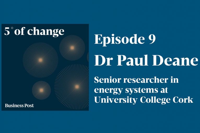 Podcast: Five Degrees of Change - Dr Paul Deane