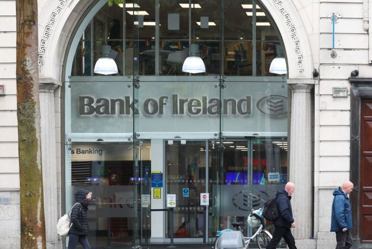 Francesca McDonagh, chief executive of Bank of Ireland, said the sale of state shares represented a 'positive step – for Irish taxpayers, the Irish economy, and Bank of Ireland'