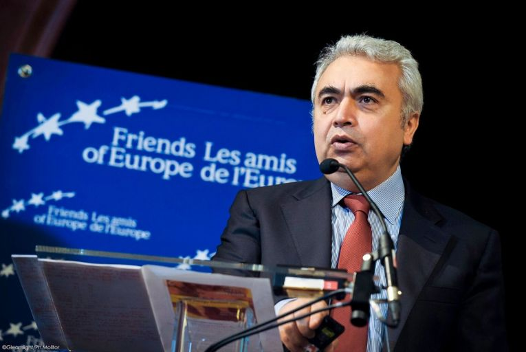 Fatih Birol executive director of the International Energy Agency aid that global energy demand will decline by about 5 per cent this year.