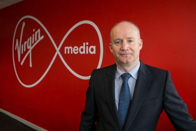 Tony Hanway, chief executive of Virgin Media Ireland