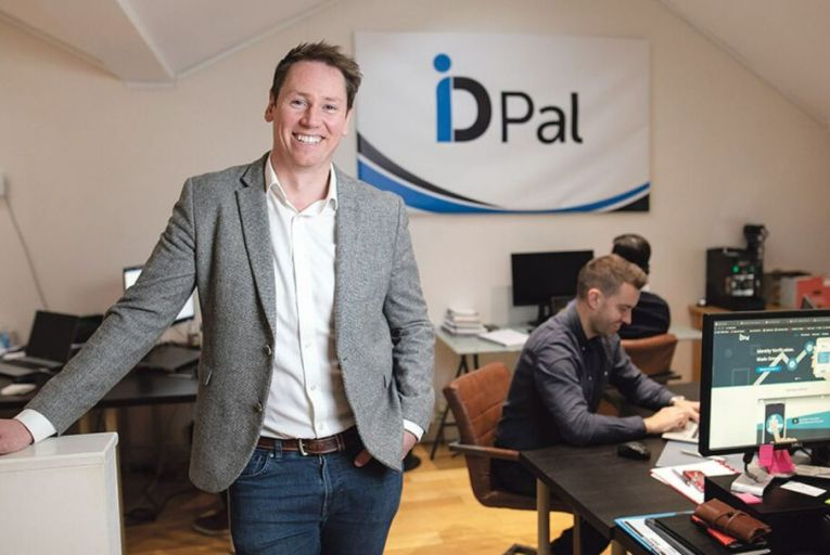 Colum Lyons, chief executive at ID-Pal: 'It's a big opportunity, and quite an exciting one for ID-Pal'. Picture: Fergal Phillips