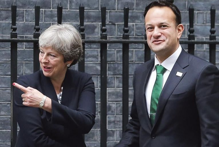 Theresa May and Leo Varadkar:  a cordial relationship on the  surface, but press reports have  suggested otherwise Picture: Getty