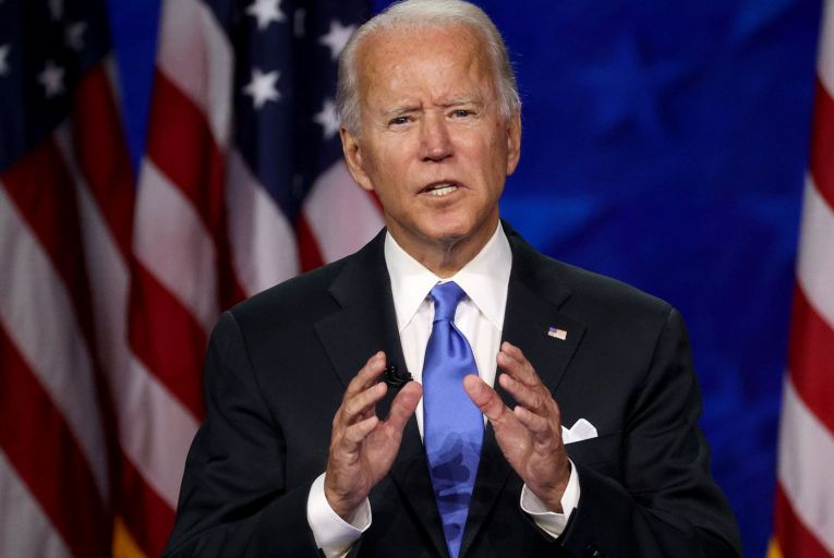 Joe Biden, the Democrats' candidate in the upcoming US election, could learn that the old belief among US partners that Americans will 'ultimately do the right thing' may be gone. Picture: Win McNamee/Getty Images