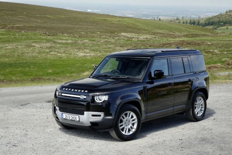 The Defender Hard Top is usefully cheaper to buy than the passenger model, with prices starting at €61,680, including Vat, against €73,226 for the five-seat model