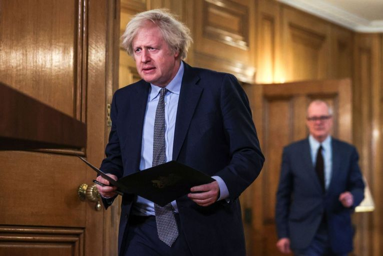 The successful vaccine rollout may have earned him points with the electorate but British Prime Minister Boris Johnson has come under serious fire over the expensive refurbishment of his flat in Downing Street Pic: Getty