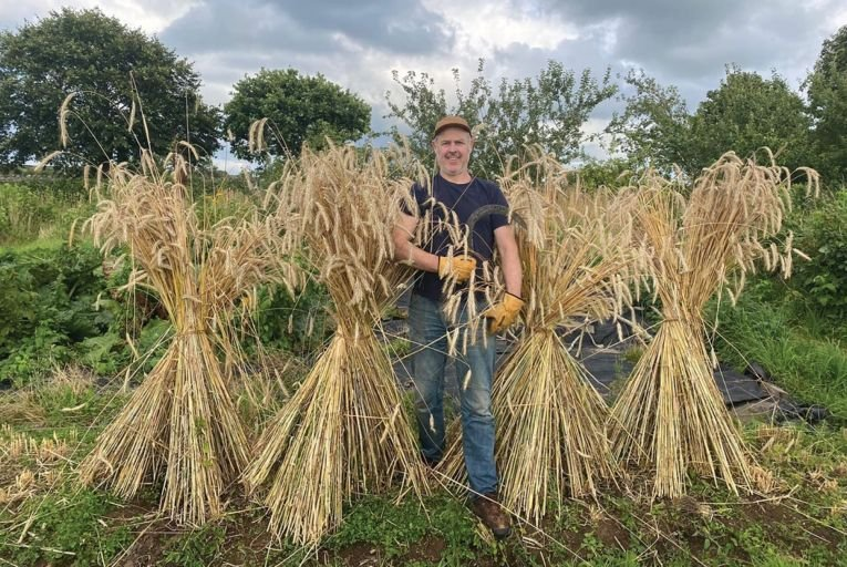 Joe Fitzmaurice of Riot Rye: 'If we can switch just a proportion of our recipes to using Irish flour, it will really help in growing our resilience and food security.'