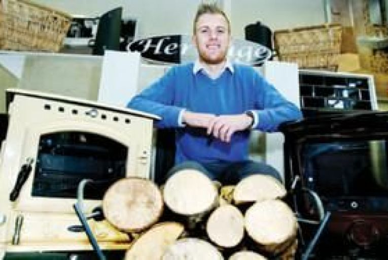 Mark Dineen from Heritage Stoves, one of Ireland's leading suppliers of multi-fuel stoves Picture: Maxwells