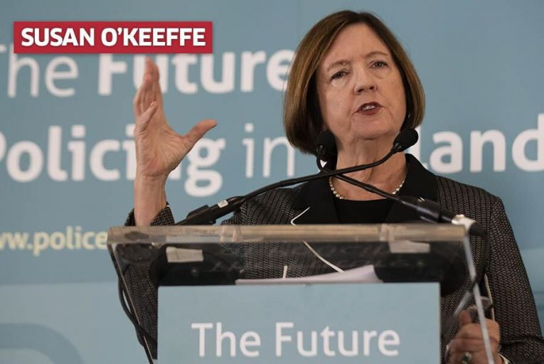 Kathleen O\'Toole, Chair of the Commission on the Future of Policing in Ireland. Pic: RollingNews.ie