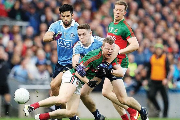 Dublin and Mayo clash in this year's All-Ireland Final Inpho