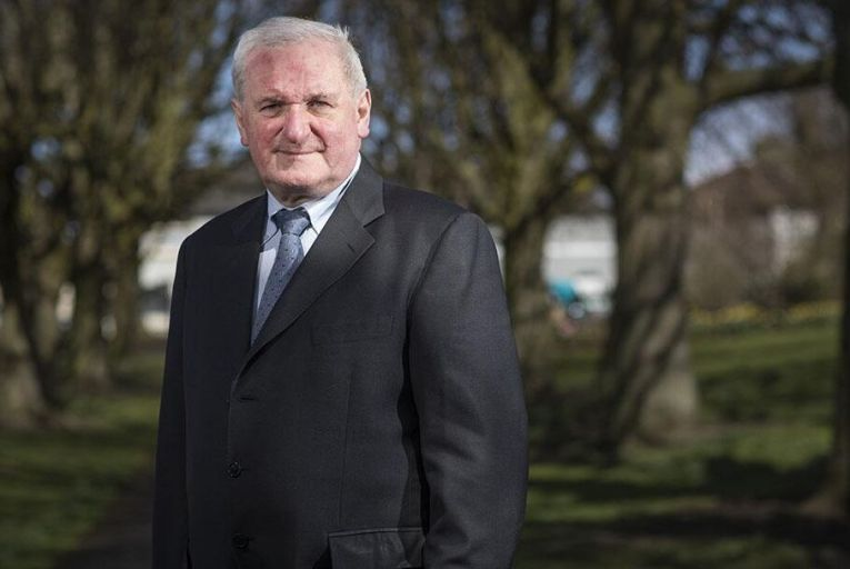 Half-time in the election and Fine Gael brings on Bertie