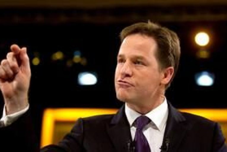 """Clegg pushes for """"tycoon tax"""""""