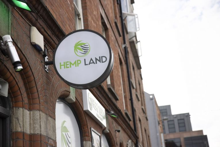 The Food Safety Authority of Ireland received an interim order in the High Court last week enforcing a closure order that it issued on Alan Donohoe, who operates Hempland and Hempture, in Dublin's north inner city. Picture: Ferghal Phillips