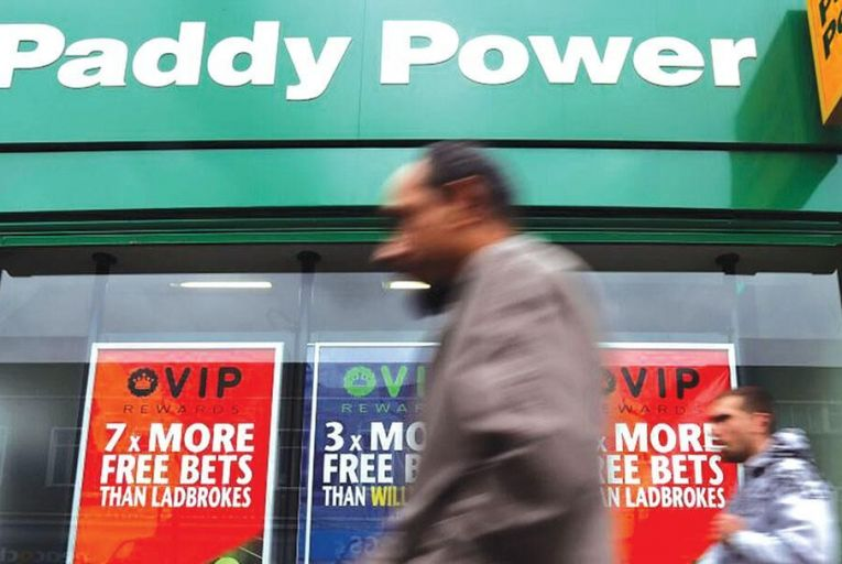 Paddy Power gets sterling and Euro 2016 lift