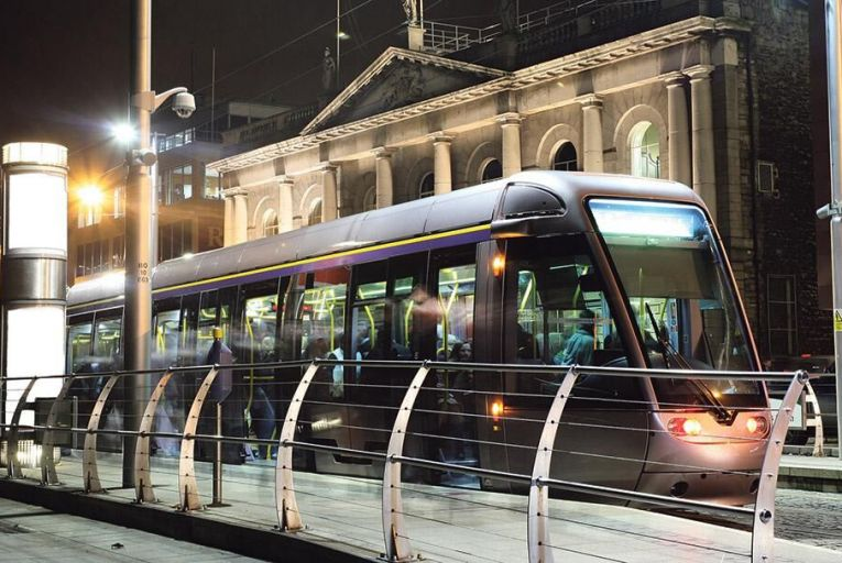 Tracking the impact of Luas and Dart proximity on office rents