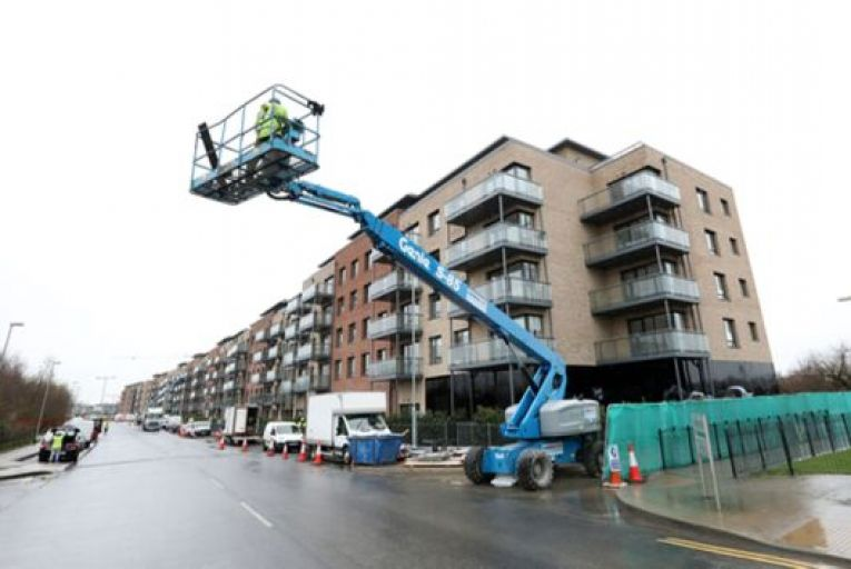 A large majority of the increase comprised of a 141 per cent increase in apartments under construction. Picture: Rollingnews.ie