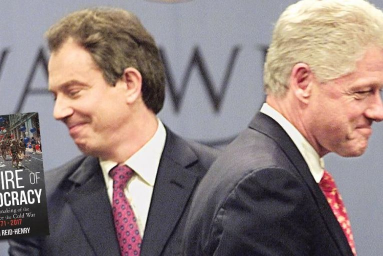 Tony Blair and Bill Clinton:  both politicians led a renewed focus on the individual Pic: Getty