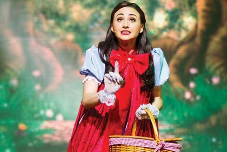 Hayley-Jo Murphy in Little Red Riding Hood at the Gaiety, Dublin