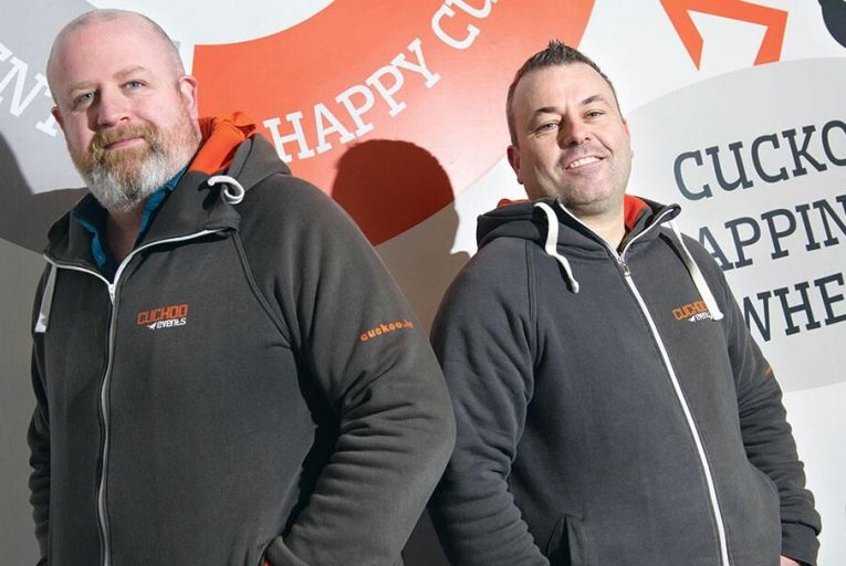 Mark Breen and Martin Cullen, co-founders of Cuckoo EventsMaura Hickey
