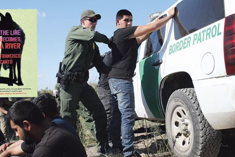 US agents arresting would-be Mexican immigrants on the borderGETTY