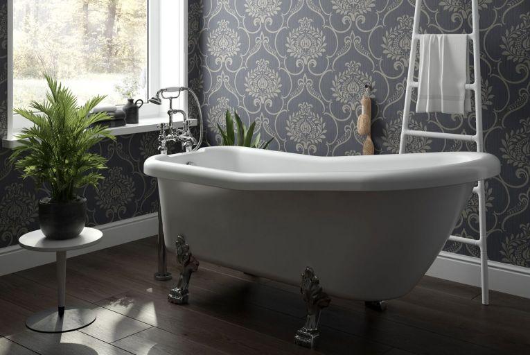 Interior design: Modern bathrooms awash with glamour