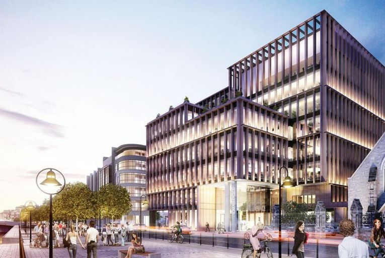 City Quay in Dublin 1 has been earmarked for high-rise developments
