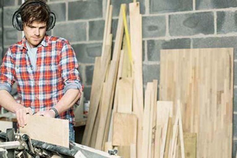 Snug workshop producing contemporary furniture