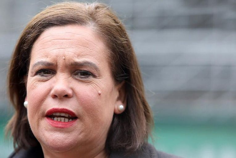 Mary Lou McDonald will be happy with recent poll results and the rise of Sinn Féin