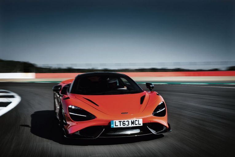 STUFF OF LEGEND: Just 765 examples of the magnificent McLaren 765LT will be built