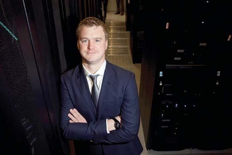 Barry McMahon, data centre and cloud  proposition manager,  BT Ireland