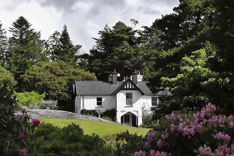 Derreen House, on the Beara Peninsula in Co Kerry: its gardens are to be transformer by Alan Power