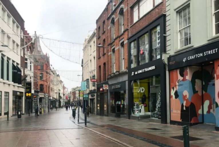 There are more than 4,000 empty units above Dublin city centre shops that could be used for housing. Picture: Rollingnews.ie