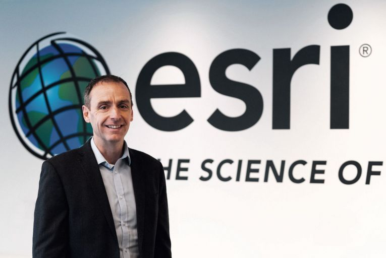 Dermot O'Kane, head of sales, Esri Ireland