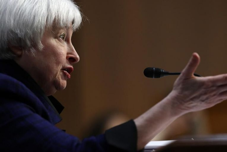 Federal Reserve chair Janet Yellen Pic: Getty