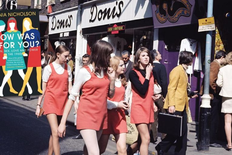 A group of young women walk down Carnaby Street in London Pic: Getty