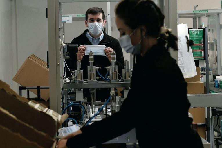 Making It Work: Irish PPE start-up ships four million face masks a week
