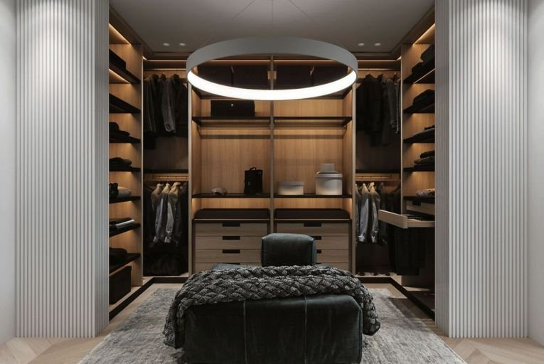 Maximise every inch you have with a walk-in wardrobe
