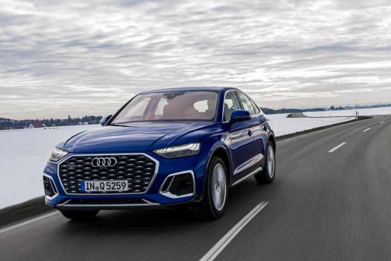 The Q5 Sportback: prices start from €60,292