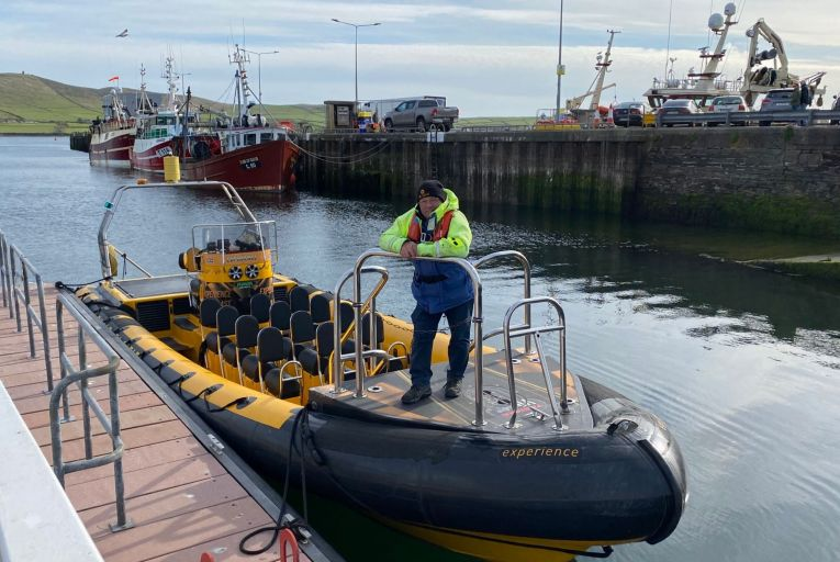 Jimmy Flannery, owner of Dingle Sea Safari: 'It looks like, once again, when it comes to the marine sector, they don't give a damn'