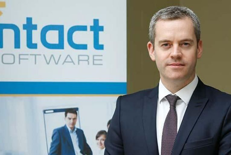 Justin Lawless,  chief executive, Intact Software