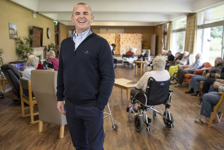"""Tom Finn, chief executive of Silver Stream Healthcare: """"No matter where you are in the world, healthcare is always an emotive issue. Picture: Fergal Phillips"""