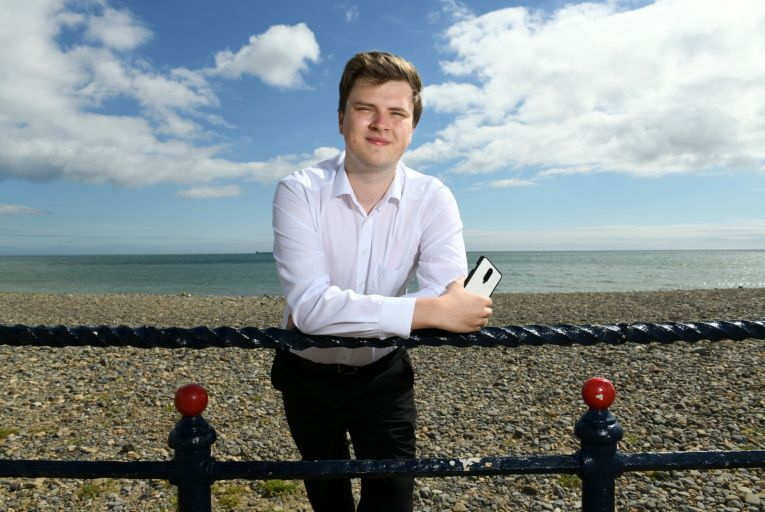 Rory O'Connor, an independent councillor on Wicklow County Council, created Councillor Connect. Picture: Bryan Meade